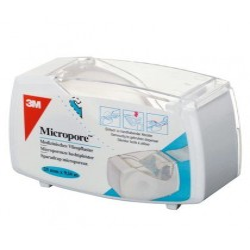 MICROPORE Sparadrap Microporeux 12,5mmx5m Blanc