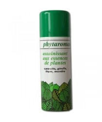 Spray Assainissant Cannelle-Girofle des laboratoires Phytaromasol