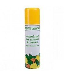 Spray Assainissant Bergamote-Lemongrass des laboratoires Phytaromasol