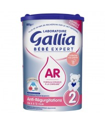Anti-Regurgitations 2 des laboratoires Gallia