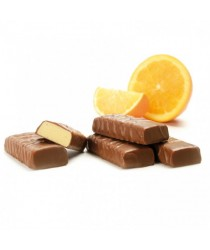 SEROVANCE Barre Orange Enrobée Chocolat au Lait