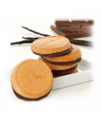 DYNOVANCE Biscuit Vanille Socle Chocolat