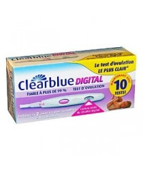Test D-Ovulation Digital des laboratoires Clearblue