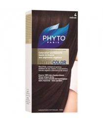 Phytocolor Coloration 04 Chatain des laboratoires Phyto