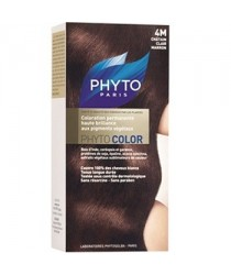 Phytocolor Coloration 04M Chatain Clair Marron des laboratoires Phyto