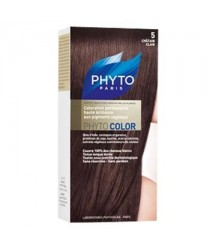 Phytocolor Coloration 05 Chatain Clair des laboratoires Phyto