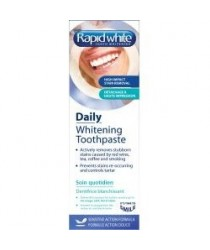 RAPID WHITE Dentifrice de Blachiment sans Peroxyde