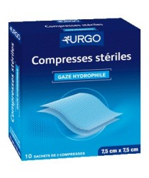 Compresses de Gaze 7,5cmx7,5cm