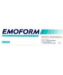 Dentifrice Dents Sensibles des laboratoires Emoform