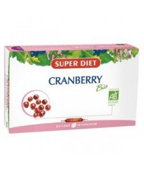 Ampoules Bio Cranberry Soin Des Troubles Urinaires de Super Diet