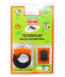 NATURA Bracelet anti-moustiques orange TechniSlap