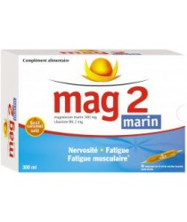 MAG 2 MARIN Ampoules Buvables