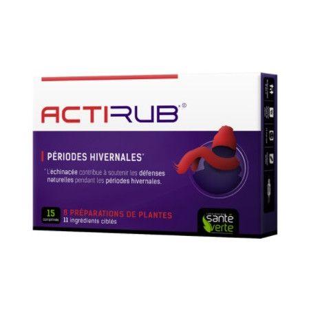 ACTIRUB Comprimés Rhume et Infections