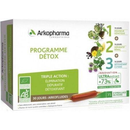 ARKOFLUIDES Bio Programme Détox Coffret