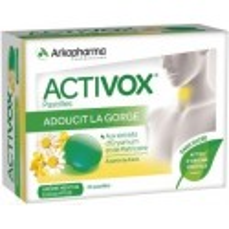 ACTIVOX Pastille Adoucit la Gorge
