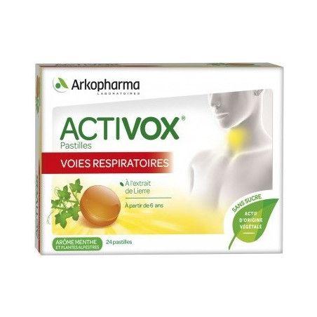 ACTIVOX Pastille Libère les Voies Respiratoires