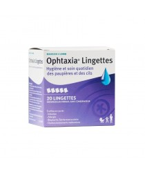 OPHTAXIA Lingettes - Paramaket.com