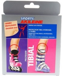 AKILEINE SPORT TIBIAL Protéger Protection Tibia Hydrogel