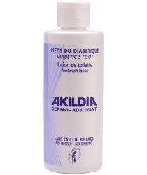AKILDIA Lotion de Toilette Pied Diabétique