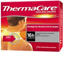 Patch Chauffant Anti Douleur Nuque Epaule X 2 Thermacare